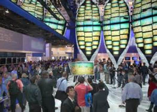 PHOTO: Several members of AARP Nevada are offering their opinion on some of the new technologies being unveiled at the 2014 Consumer Electronics Show in Las Vegas this week. Photo courtesy of the U.S. Department of Commerce.