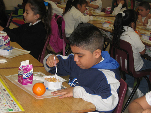 PHOTO: Arizona is ranked 27th in the latest School Breakfast Scorecard from the Food Research and Action Center (FRAC). Photo courtesy USDA.