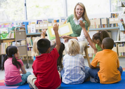 PHOTO: A new report finds that the majority of Utah students don't read at the fourth-grade level by the time they reach the fourth grade. Photo credit: Voices for Utah Children.