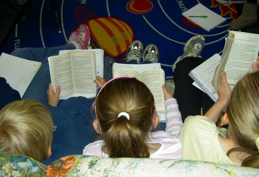 PHOTO: New research finds poverty is playing a factor in the reading proficiency of Ohio's fourth graders. Photo credit: morguefile.com
