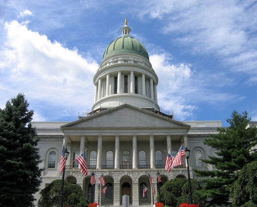 PHOTO: The day before Valentine�s Day is Nonprofit Day at Maine's State House, aimed at warming the sometimes rocky relationship between lawmakers and nonprofit groups in the state. Photo credit: Wikimedia Commons