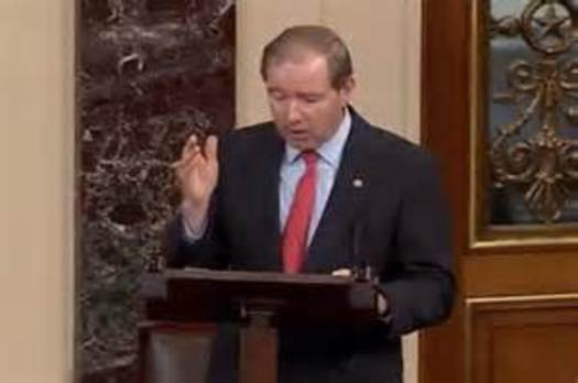 PHOTO: Veterans in rural New Mexico may get better access to VA services if a new bill co-sponsored by U.S. Senator Tom Udall makes its way through Congress. Photo courtesy Sen. Udall's office.