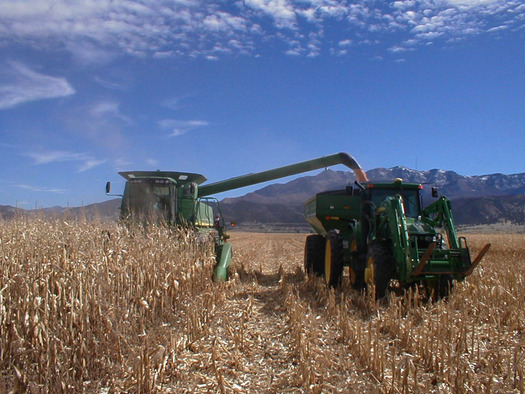 PHOTO: The federal government is taking steps to help farmers meet the challenges climate change is causing for agriculture. Photo courtesy of the Utah Broadband Project.
