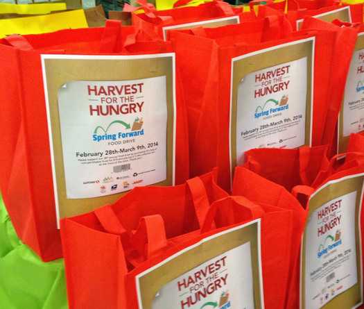 PHOTO: Today kicks off the Annual Harvest for the Hungry Spring Forward Food Drive. CREDIT: AARP Maryland