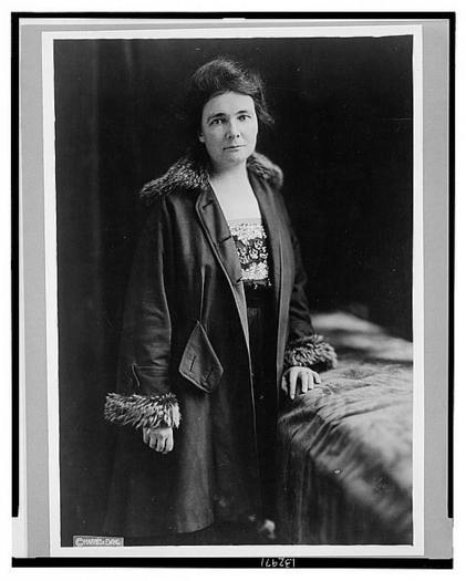 PHOTO: Nevada Suffragist Anne Martin is being recognized as part of National Women's History Month in March. Photo courtesy of the U-S Library of Congress.