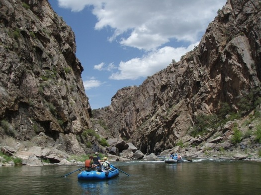 PHOTO: Colorado's water supply is imperative to outdoor recreation at places like Gunnison Gorge. Courtesy: Alpine Public Affairs
