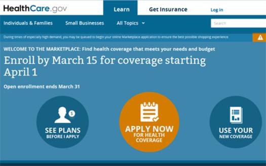 Imagen: Portal de Internet para obtener informaci�n sobre las opciones para contratar un seguro de atenci�n a la salud.