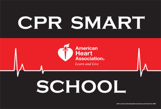 PHOTO: Two schools in North Dakota are being recognized for their efforts to have all students learn how to perform CPR and how to use an AED before graduation. Photo courtesy AHA North Dakota