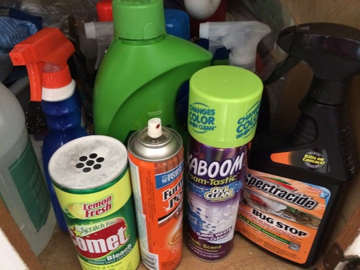 PHOTO: During National Poison Prevention Week, Illinois experts are trying to get the word out about ways to prevent accidental poisonings in the home. Photo credit: M. Kuhlman.