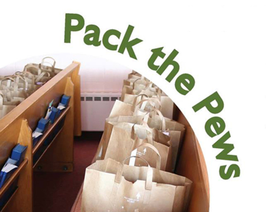 "PHOTO: Some Minnesota churches are asking parishioners to ""pack the pews"" this weekend with food for the hungry. Photo courtesy Minnesota FoodShare."