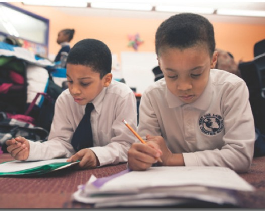PHOTO: A new report that compares how children are progressing on key milestones by state across racial and ethnic groups shows Massachusetts in the forefront in some cases, lagging in others. Photo courtesy Kids Count.