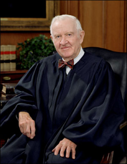 """Among other things, Justice Stephens is advocating for campaign spending reform, after the 2010 """"Citizens United"""" decision that declared corporations are people and opened the floodgates to big corporate political donations. Photo by Steve Petteway/ US Supreme Court"""