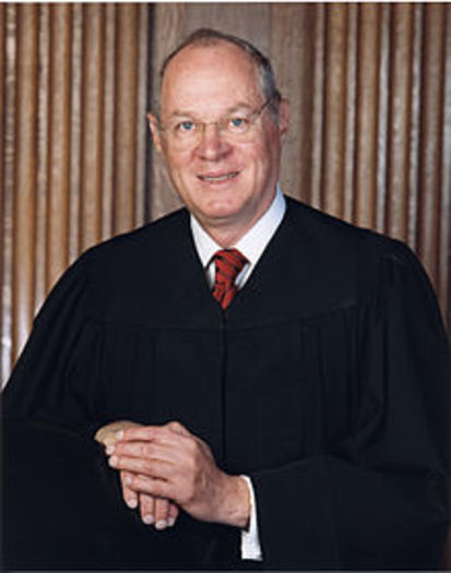 """PHOTO: Swing vote Justice Anthony Kennedy swung in favor of """"big spenders"""" in the U.S. Supreme Court's McCutcheon v. Federal Election Commission decision on Wednesday. Photo Credit: Collection of the Supreme Court of the United States"""