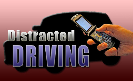 """PHOTO: Nevada law enforcement is cracking down on motorists who talk or text on their cell phones during """"Distracted Driving Awareness Month."""" Photo courtesy U.S. Department of Defense."""