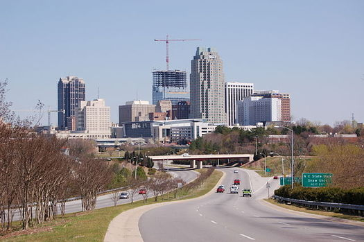 PHOTO: The Raleigh metropolitan area ranks 155th in the country for urban sprawl, in a survey of 221 major cities by Smart Growth America. Photo credit: J.M. Turner