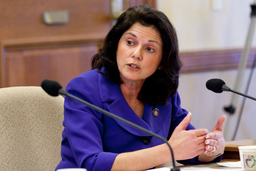 PHOTO: State Sen. Leah Vukmir (R-Wauwatosa) has settled a lawsuit regarding e-mails involving her activity with ALEC, the conservative American Legislative Exchange Council. Photo courtesy Wisconsin Senate.