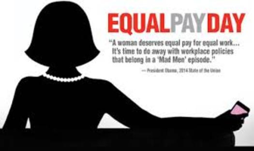 "IMAGE: ""Equal Pay Day,"" which was marked Tuesday, is part of an ongoing national campaign to increase awareness about pay inequality for working women. A California Assembly Committee is being formed to tackle pay inequality and other issues for working women. Credit: U.S. Dept. of Labor."