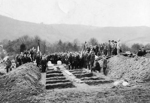 PHOTO: Monday 4/28 is workers' memorial day, set aside to remember people who died on the job. The West Virginia AFL-CIO is marking the occasion with a ceremony in Benwood, site of a mine disaster that took more than 100 lives in 1924. Photo courtesy West Virginia Humanities Council.