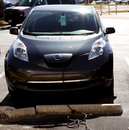 PHOTO: An energy conservation advocacy group is giving Utah a B+ for new policies that promote electric vehicle use. Photo courtesy NASA.