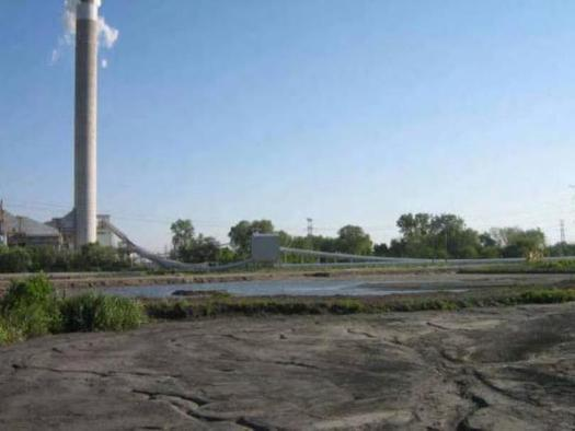 PHOTO: Indianapolis Power and Light's Harding Street Generating Station is among the coal ash disposal sites listed in a new report detailing the danger of coal ash to public health. Photo courtesy of the Environmental Protection Agency.