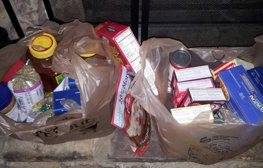 PHOTO: Canned soups, meats and fish, pasta, peanut butter, rice, and cereal are among the items letter carriers will collect during Saturday's Stamp Out Hunger event, the nation's largest one-day food drive. Photo courtesy Pam Donato.