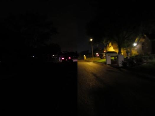 PHOTO: Public lighting can make a big difference for neighborhood health and safety, so efforts are underway to get street lights in the more than 1,200 colonias across the Rio Grande Valley that otherwise go dark at night. Photo courtesy La Union del Pueblo Entero.