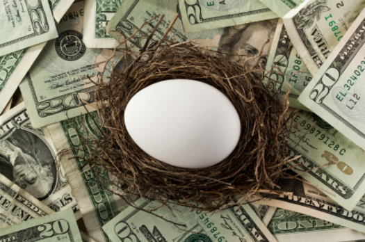 PHOTO: Too few feathers in that nest? Oregon's Joint Interim Task Force on Retirement Savings is exploring ways to help people save more, and more regularly. Photo credit: Pablo631/iStockphoto.com.