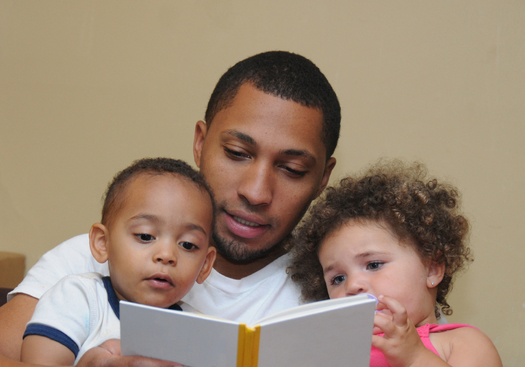 PHOTO: Reading to young children gives them the vocabulary skills they'll need when they start school, which has lifelong benefits. Photo credit: USGirl/iStockphoto