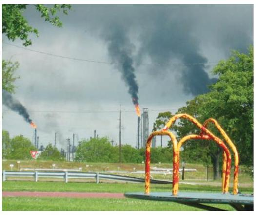 PHOTO: Do your children go to school near a potentially dangerous chemical facility? The Center for Effective Government's new report finds there is a one-in-10 chance they do. Photo credit: Hilton Kelly, for the Center for Effective Government.