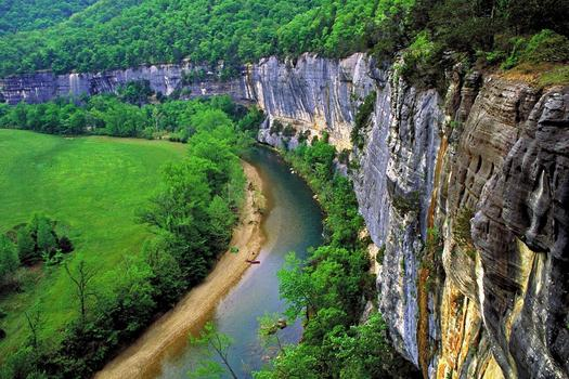 PHOTO: The Arkansas Department of Environmental Quality is seeking comments on whether they should stop new large hog feeding operations in the Buffalo River watershed. CREDIT: thecitywire.com.
