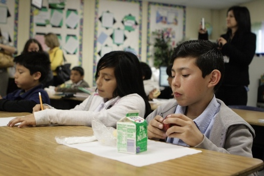 PHOTO: Hundreds of thousands of Pennsylvania children could get free breakfast and lunch at school if their schools took part in the Community Eligibility Provision. Photo credit: Share Our Strength