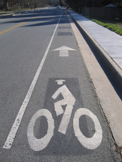 Photo: A new survey is in the works where Connecticut residents can help make local roads more pedestrian and bike friendly. Photo courtesy of Pedbikeimages.org / Austin Brown.