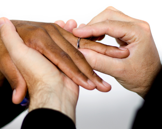 PHOTO: The new attention same-sex marriage is receiving is one reason more legal action is seen on the issue of workplace protections for LGBT employees. Photo credit: innovatedcaptures/iStockphoto.com.