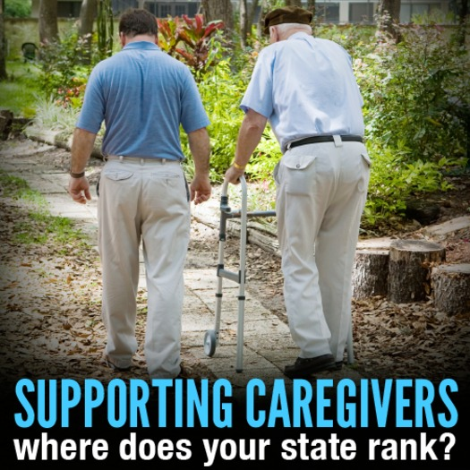 GRAPHIC: While Oregon places third in a national ranking of states' long-term services and support for people as they age, the report also indicates areas for improvement. Photo courtesy AARP.