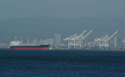 PHOTO: Oakland port facilities offer good-paying jobs, but California labor groups say political ad money from outside the state, including money from the Koch Brothers, is pushing an agenda that exacerbates the nation's economic divide. Photo credit: Johannes Seemann/Morguefile.