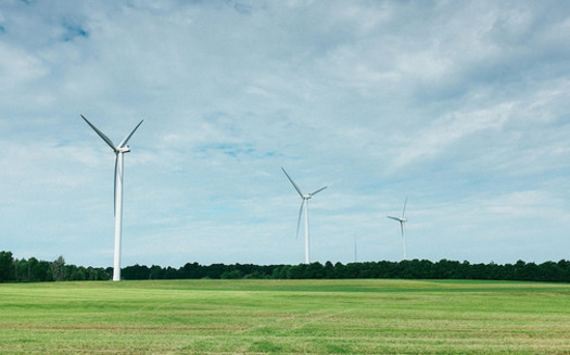 PHOTO: New York is drawing more of its electricity from wind power than ever, but that trend could stop if the state abandons its renewable-energy targets this year. Photo credit: Jonathan Percy/CC.