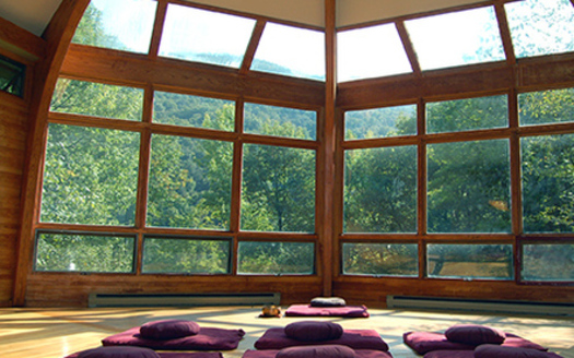PHOTO: The Menla Mountain Retreat Center in Phoenicia, New York, will be the site of the first Mindfulness for Leadership Excellence program in the U.S., addressing digital overload. Photo courtesy of Menla Mountain Retreat Center.