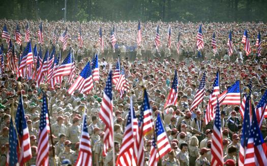 Boy Scouts of America event. Credit: U.S. Defense Department.