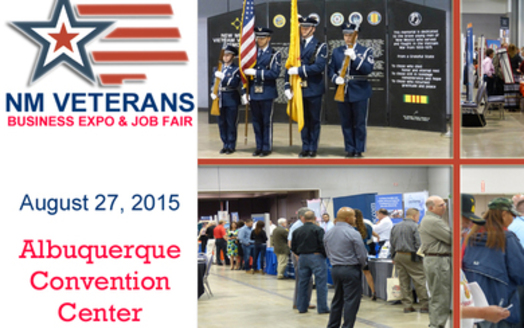 The New Mexico Veterans Business Expo and Job Fair is happening Thursday at the Albuquerque Convention Center. Credit: New Mexico Veterans Business Expo and Job Fair