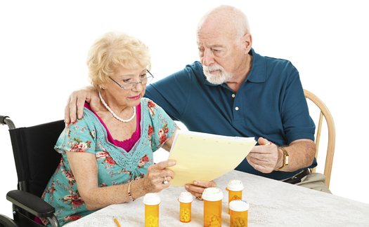 The open enrollment period for those on Medicare who want to change their prescription drug plans runs through Dec. 7. Credit: Lisa F. Young.