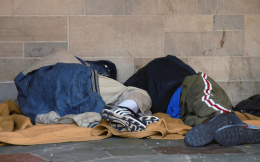 A new report suggests a lack of public assistance for low-income New Yorkers could be contributing to the state's homeless problem. (H Dominique Abed/freeimages.com)<br />