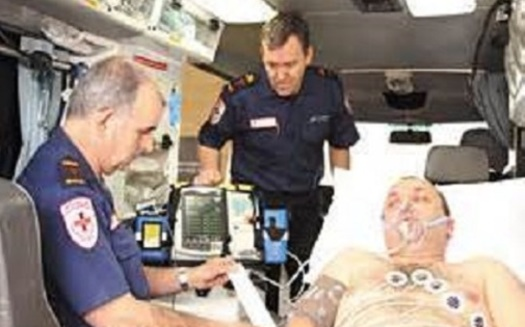 Improving rural health care - including providing easy access to devices such as a 12-lead mobile ECG machine - is the goal of the Mission: Lifeline program. (American Heart Association)