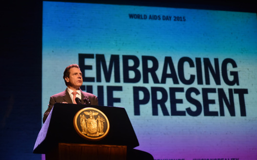 Gov. Cuomo pledged $200 million to fight AIDS in the 2016-17 budget. (GovernorAndrewCuomo/Flickr)