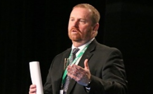 North Dakota Farmers Union President Mark Watne says low commodity prices are causing financial pain among farmers. (NDFU.org)