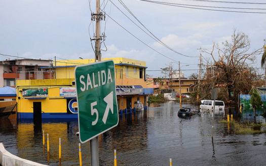 The death toll in Puerto Rico is still rising in the wake of flooding from Hurricane Maria, and Minnesotans are finding ways to help. (Sgt. Jose Ahiram Diaz-Ramos/Flickr)