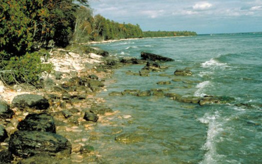 The Great Lakes hold 90 percent of America's fresh water, and Wisconsin conservation groups oppose a plan to allow diversion of Lake Michigan water for a private manufacturer. (EPA)
