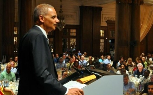 The National Democratic Redistricting Committee, a group led by former U.S. Attorney General Eric Holder, is working to force Wisconsin Gov. Scott Walker to hold two special elections. (Wikimedia Commons)