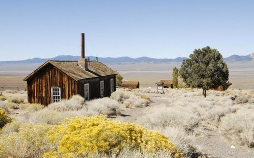 Berlin-Ichthyosaur State Park in Nye County is one of hundreds of Nevada historic or recreational sites that have received Land and Water Conservation Fund dollars over the years. (Nevada State Parks)