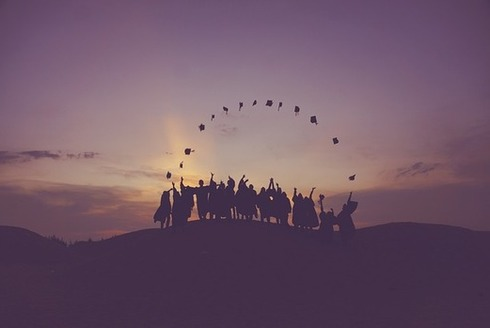 A new report shows the nation's graduation rate is at an all-time high, with 84 percent of high school students graduating on time. In Minnesota, it's 82 percent. (Pixabay)
