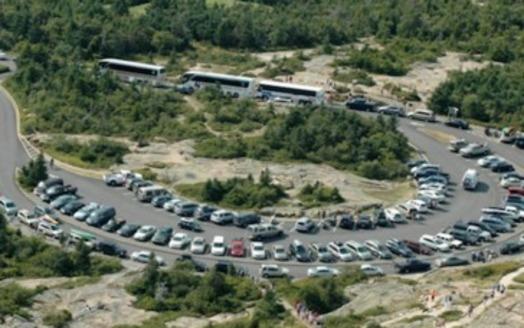 Acadia National Park has the most visitors per square mile of any U.S. national park. (National Park Service)